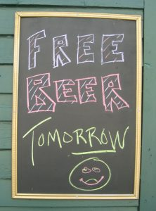 Free Beer Tomorrow image The Income Foundry