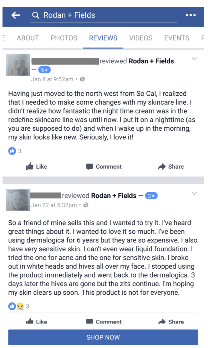 R & F Happy Customers